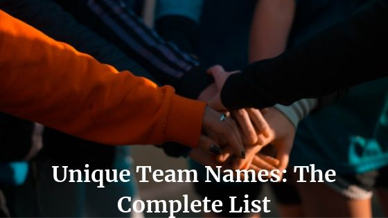 Unique Team Names