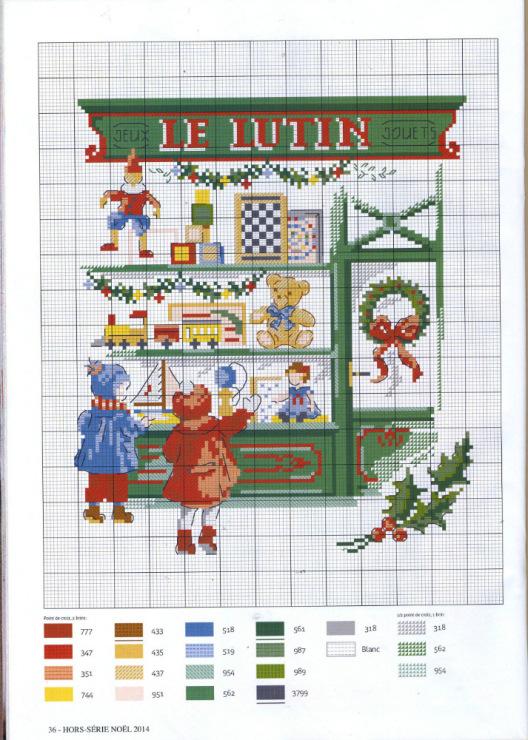 Cross Stitch : Christmas Cross Stitch Patterns