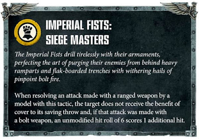 Táctica Capítulo Puños Imperiales