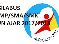 Download RPP Silabus SD, SMP, SMA, SMK K13 Revisi 2017