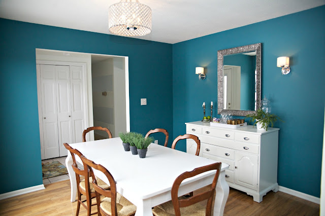 Abby Manchesky Interiors Why I Painted Our Pottery Barn Dining Room Table Before After