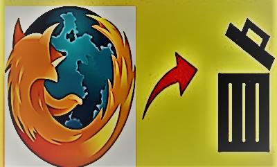 اخفاء المواقع التي سبق وزرتها من شريط مهام متصفح فايرفوكس