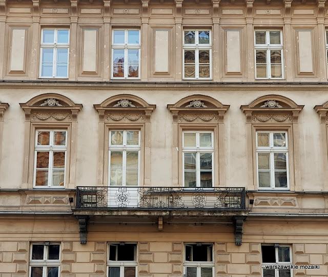 SPATiF balkon Warszawa Warsaw architektura architecture kamienica Śródmieście Józef Monkiewicz Józef Huss