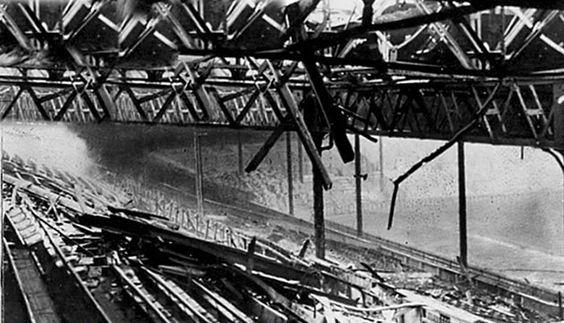 11 March 1941 worldwartwo.filminspector.com Old Trafford Manchester