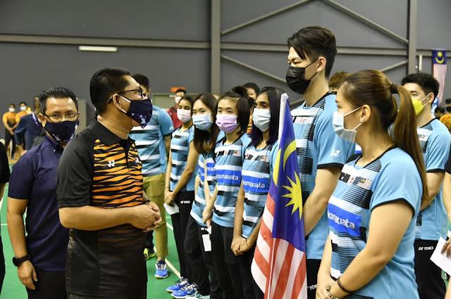 pemain malaysia piala sudirman 2021