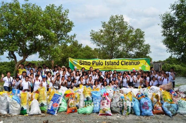 Sitio Pulo Island Cleanup Drive
