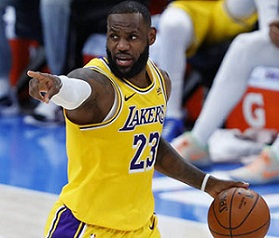 LeBron James, Top 5, NBA, Players, Most points, in-game, aged 36, older.