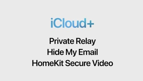 iCloud Plus from Apple introduces many new functions