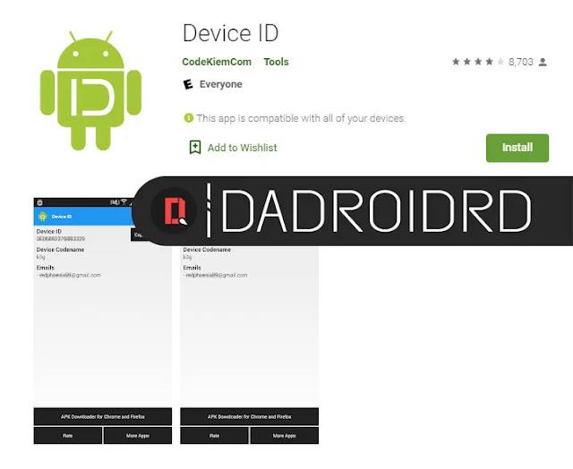 Cara lihat Codename Android dengan aplikasi Cara gampang ketahui Codename semua Smartphone Android