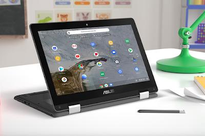 ASUS Chromebook C214, Laptop Edukasi Terbaik Untuk Anak