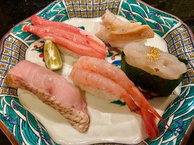 金沢まいもん寿司の加賀百万石握り