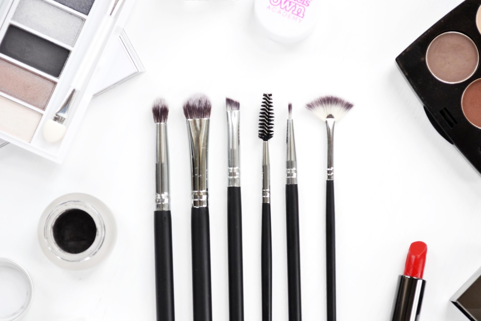 crownbrush brush set for eye make up