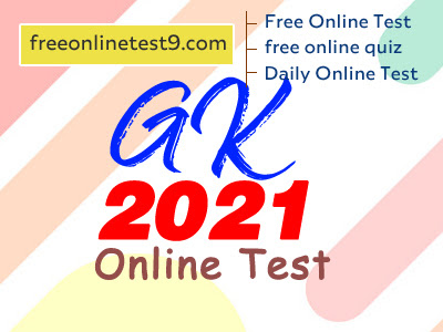 gk 2021 online test