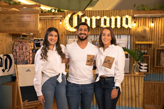 Paola Mancebo, Guillermo Escobar y Loren Medrano.
