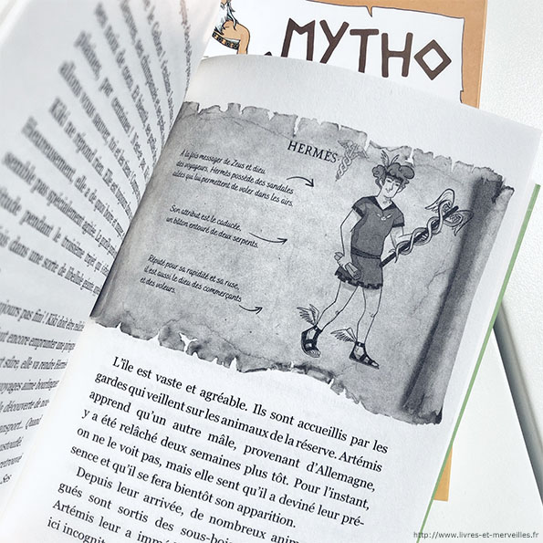 Mytho, Artémis sort ses griffes - Slalom