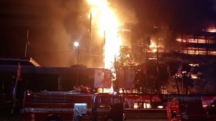 Eks Kantor Jaksa Pinangki di Gedung Kejaksaan Agung Terbakar, Mahfud MD Terkejut