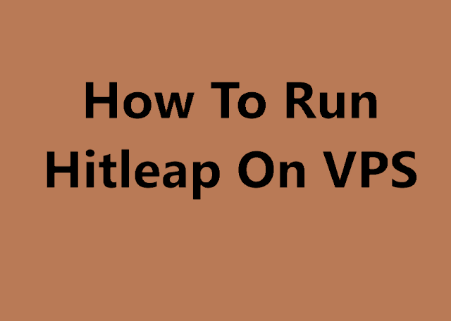 How To Run Hitleap On VPS