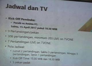 Persib vs Arema FC Pertandingan Pembuka Liga 1 Sabtu 15 April 2017