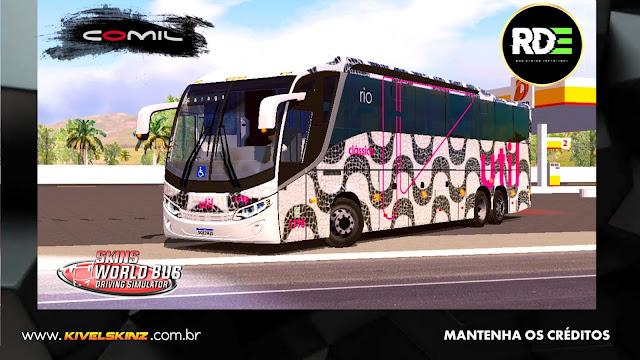 COMIL 1200 6X2 - VIAÇÃO UTIL RIO