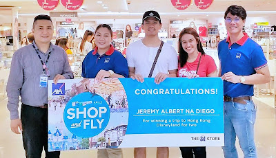 Hong Kong Disneyland trip for Shop and Fly Promo winners