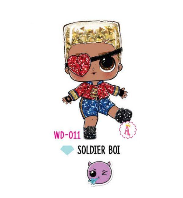 Мальчик Soldier Boi WD-011 зимняя серия Лол Сюрприз