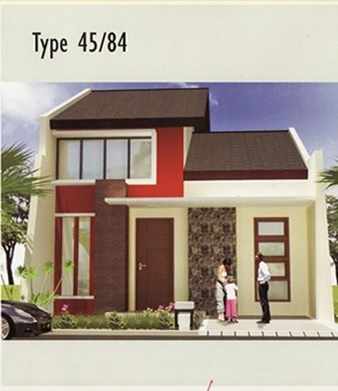 Desain  Rumah  Minimalis  1 Lantai Type  45  Foto Desain