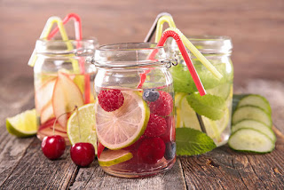resep infused water untuk menurunkan berat badan secara efektif