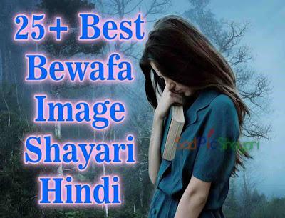 New Bewafa Shayari in Hindi for Girlfriend Image Download