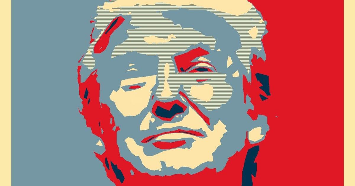 59e71781ad0b ... Donald Trump Campaign Poster: Take The STAR Back Campaign: TRUMP Poster  SERIES