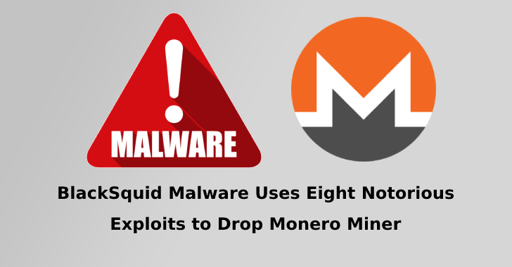 BlackSquid Malware Uses Eight Exploits to attack Web servers, Network Drives, and Removable Drives
