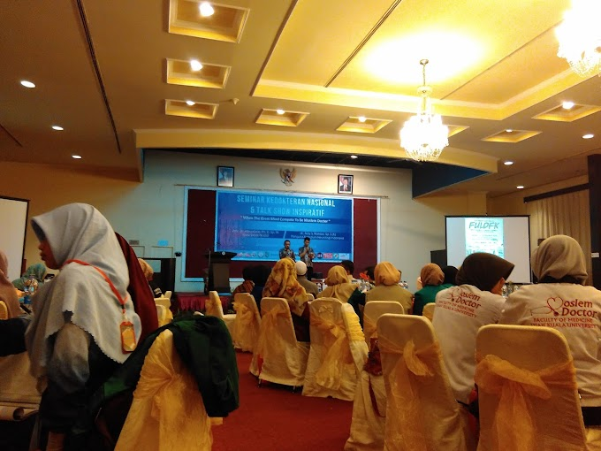 Seminar Nasional Kedokteran dan Talkshow Inspiratif FULDFK 2015 #1