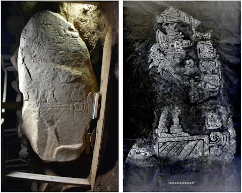 2,000-year-old stele reveals mysteries of Mayan writing