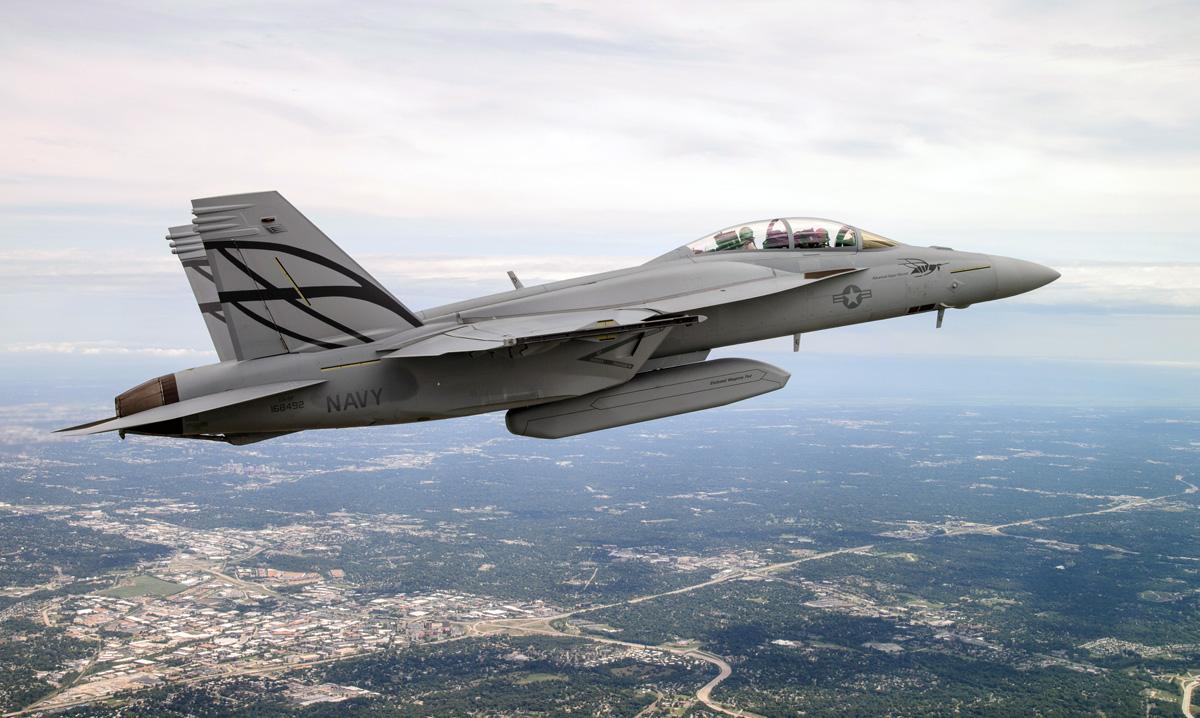 WHEN SUPER GOING ADVANCED; THE BOEING F/A-18E/F ADVANCED ...