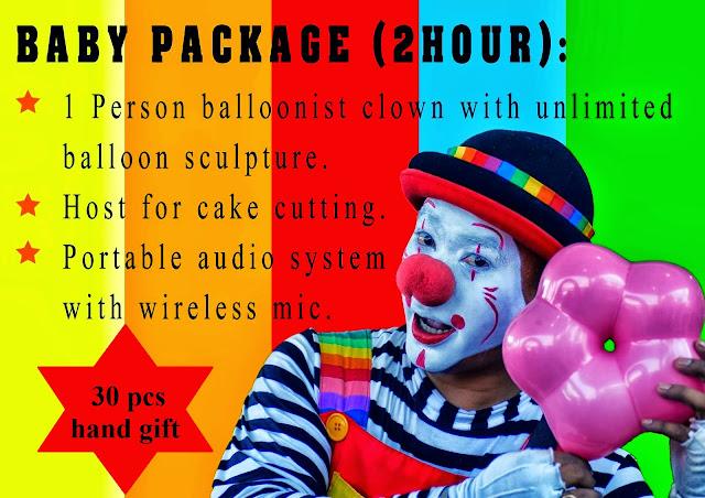 birthday clown, carnival clown, sports day clown, anual dinner clown