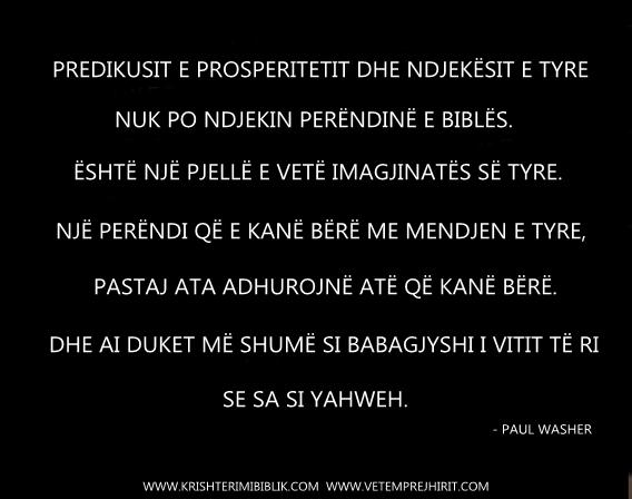 predikuesit e prosperitetit, paul washer shqip,