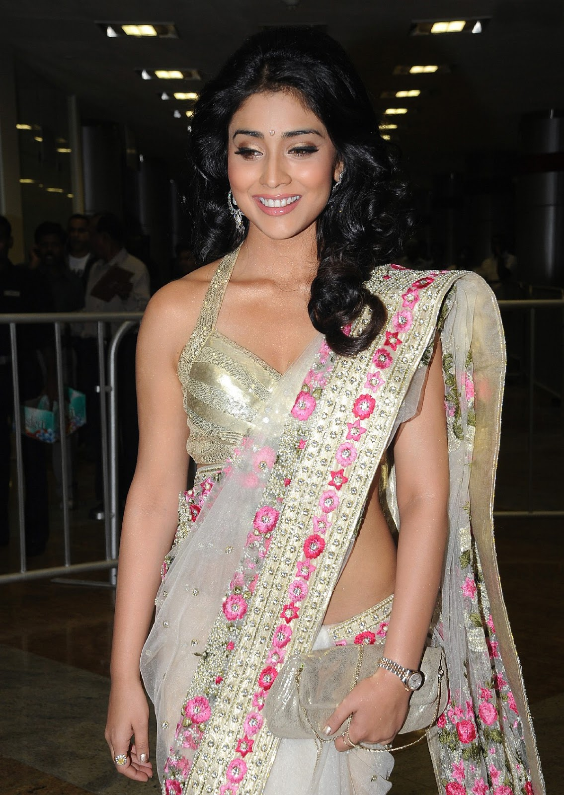 Shriya saran in a designer saree