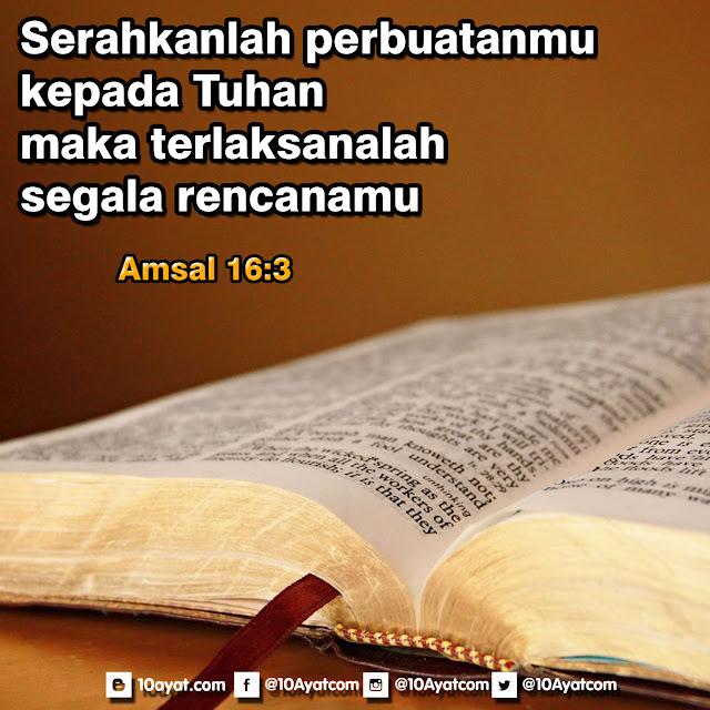 Amsal 16:3