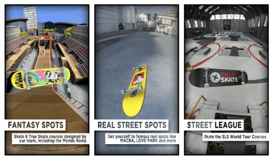 True Skate Mod Apk