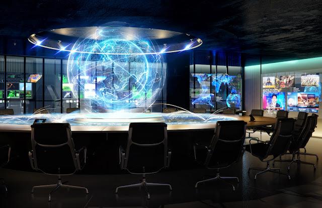 Image Meeting Room The Oppidum : Billionaire Bunker :The Czech Republic