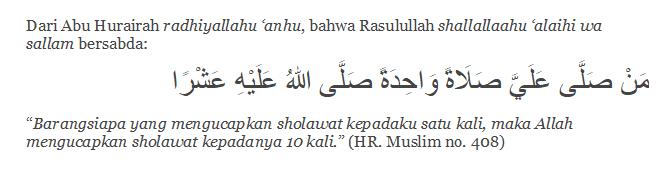 HR. Muslim no. 408