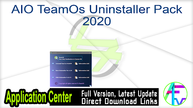 AIO TeamOs Uninstaller Pack 2020