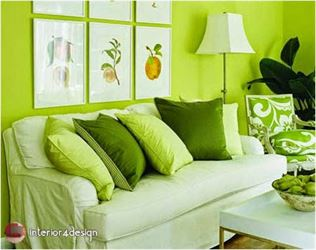 Green Color In Details Of Interior Designs 3