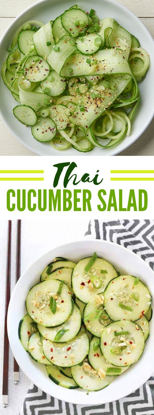 THAI CUCUMBER SALAD #vegan #meals