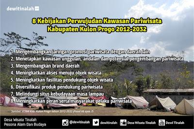 8 Kebijakan Pengembangan Kawasan Pariwisata Kulon Progo