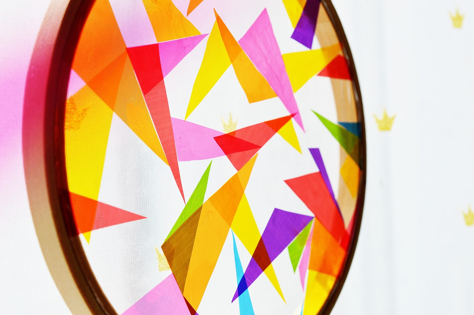 DIY Suncatcher, Motte's Blog