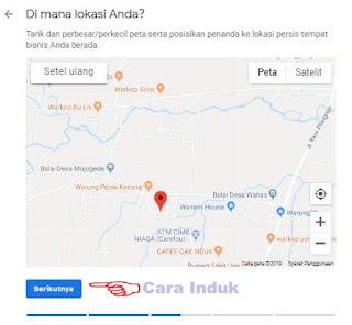 Cara daftar google map bisnis