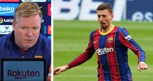 Koeman coil on Lenglet possible start ahead of the Elche game