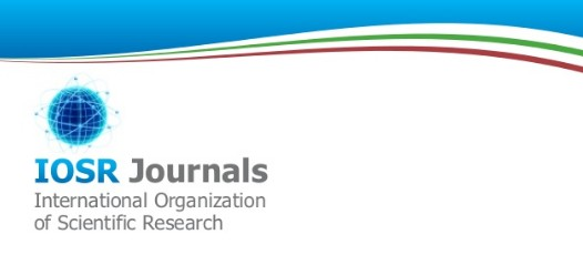 IOSR - International Organization of Scientific Research