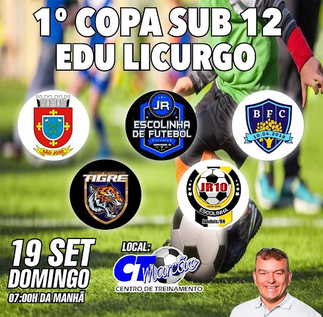 """CTM do Marcão realizará I Copa Sub-12 """"Edu Licurgo Fernandes"""""""
