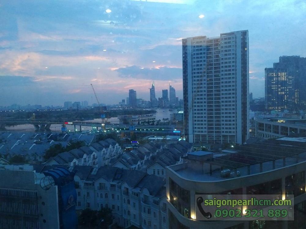Saigon Pearl cho thuê căn hộ 2PN Topaz 2 tầng 9 - hình 4